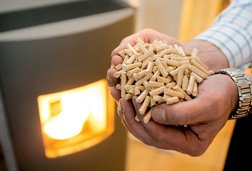 homemade wood pellets