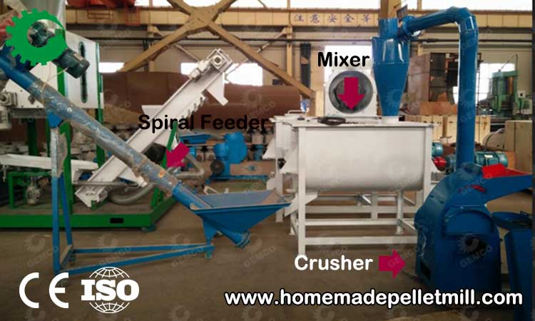 Animal Feed Pellets Production Line For Your Feed Making