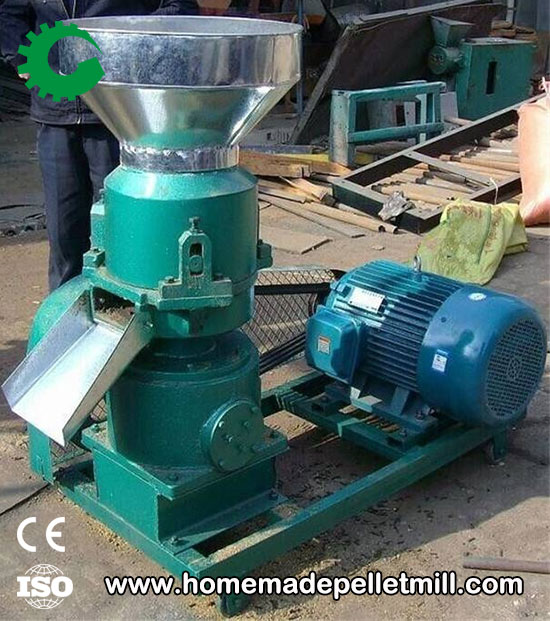 electric fish feed pellet machine