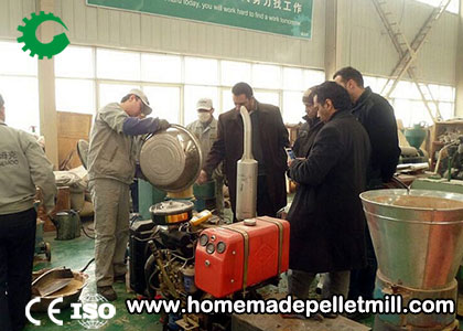 Application of Animal Feed Making Machine in Animal Breeding
