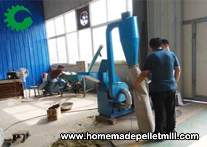 Small Donkey Feed Pellet Machine Order By Baoding Customer