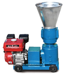 gasoline engine feed pellet mill