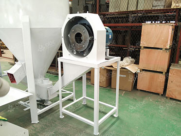hammer mill in cattle feed plant