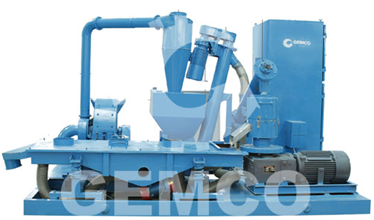 moveable biomass pellet mill plant