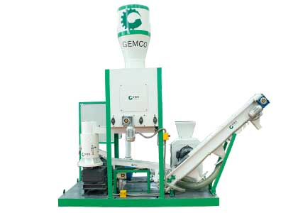 multifunctional biomass pellet mill plant
