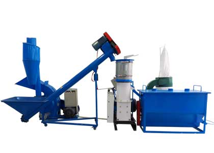 Small Complete Pellet Manufacturing Line