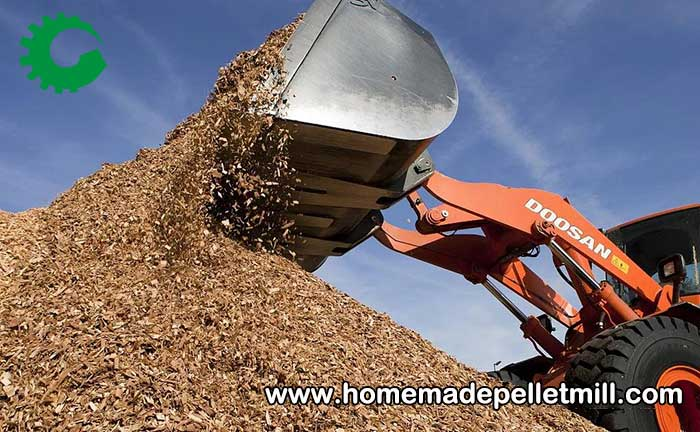 wood pellet fuel equipment
