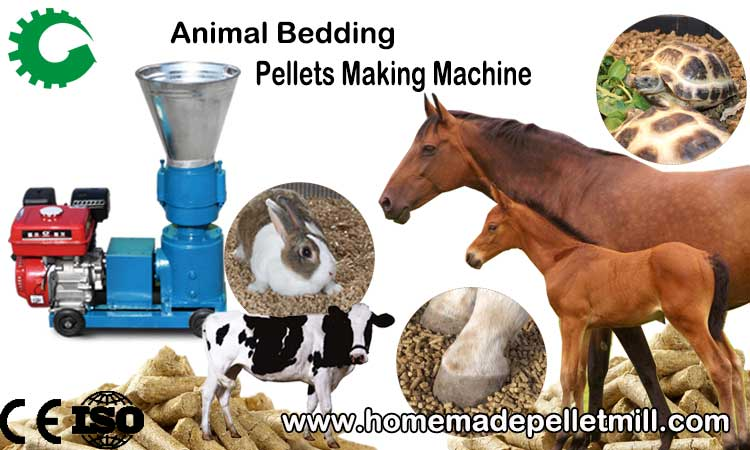Wood Pelletizing Machine Make Your Horse Bedding Pellets Making More Cost-effective